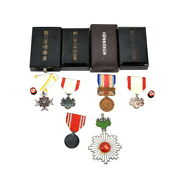 Japanese Army Marshal Medal Japanese Red Cross Military Collection