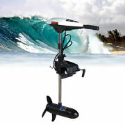 45lbs Electric Trolling Motor Outboard Inflatable Fishing Boat Engine Hangkai Us