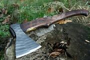 Handforged Viking Axe, Camping Boy Scout Hatchet, Handmade Personalized Axe