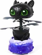 Dreamworks Dragons, Flying Toothless Interactive Dragon With Lights And Sound
