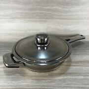 Berghoff 18/10 Edelstahl Stainless Steel Saute Pan With Lid Preowned