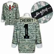 Don Cherry Autographed Canadian Military Camouflage Poppy Suit Jacket Jersey
