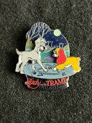 Wdw Lady And The Tramp Platinum Dvd Release Le Disney Pin 45610
