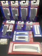 Life Like 7811 N Nickel Silver Power-loc Left Hand Remote Switch Turnout Tracks