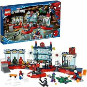 Lego 76175 Marvel Spider-man Attack To Lair Aracnida Playset With Superheroes