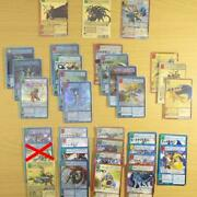 Same Day Postage Included Set Of 33 Old Digimon Carddas