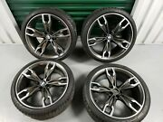 20 Bmw Style 668m Wheels Rims And Tires M5 550i 540i G30 5 Series Factory Oem