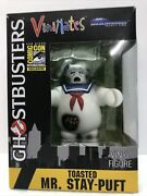 """Ghostbusters Toasted Mr. Stay Puft 5""""vinyl Figure 2017 Sdcc Exclusive 1/2000 New"""