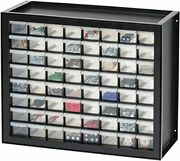 Parts And Hardware Cabinet 64 Drawers Black