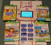 Vtech Innotab 3s Pink/ White Learning Tablet With 13 Games-c3