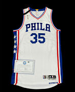 Phila Sixers Christian Wood Rookie Game Issued Jersey Coa Fanatics Used Issued
