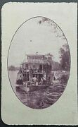 Australia Letter Card 1andfrac12d Kgv On The Murray Sa. Paddle Steamer Boat Lc 44-94