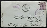 Nsw Usa 6d Sg 234 Yass - Chicago From American Selling Bibles. Wonderful Letter