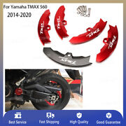 For Yamaha Tmax 560 2014-2020 Cnc Rear Transmission Belt Pulley Protector Cover