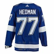 Victor Hedman Tampa Bay Lightning Signed Stanley 2020 Cup Adidas Jersey