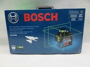 Bosch Gll3-300g 360-degree Three-plane Leveling And Alignment Line Level
