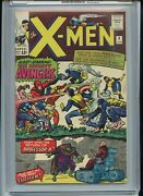 X-men 9 Cgc 8.5 Owtw Pages 1st X-men/avengers Meeting Strong Example Of Grade