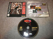 ... Cib W/ Case And Manual ... Ps1 Resident Evil W/ Registration Card - Jewel Case