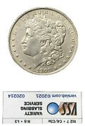 1901 Morgan Silver Dollar Certified By Vss Vam 13 Us Round Silver Coin 26.73 G