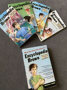 Encyclopedia Brown Detective Services Box Set Of 4 Books