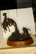 Gregory Kelsey Signed Bronze Sculpture 7 / 25 The Mid Day Sun - Rare