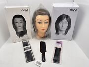 3 Diane Fromm Mannequin Head Cosmetology Dmm010 Dmm002 Dmm002 100 Real Hair