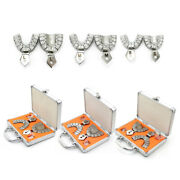 Dental Impression Detachable Tray Anti-infection Implant Tray Upper+lower S+m+l