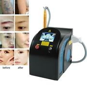 Pigment Tattoo Laser Removal Beauty Machine 110v Picosecond Function Nd Yag