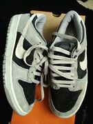 Vintage Nike Dunk Low Sandstone Grey Trainers Mint New Old Stock 2002