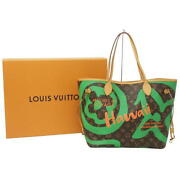 Louis Vuitton Neverfull Mm Hawaii Limited Pouch M44198 Tote Bag Auth Mm6216