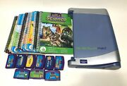 Leapfrog Quantum Leap Pad Learning System W/ 9 Books And Cartridges Educational