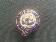 Hull Publicity Club Coat Of Arms Rare Early Enamel Pin Badge By Fattorini And Sons