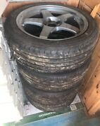Extremely Rare Rays Mazdaspeed Ms01 S 18x8 5x114.3 Et40 Te37 Te37sl Lmgt4 Ce28n