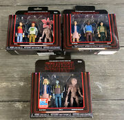 Set Of 3 Funko Figs Stranger Things Eleven Will And Demogorgan Fall Convention