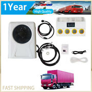 Automotive Electric Air Conditioner 24v / 12v For Excavator Truck Motorhome Rv