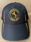 Continental Tire Black Bicycle Cycling Baseball Cap Hat Buckle Strap New Nwot
