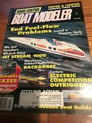 Radio Control Boat Modeler Magazine May96 Electric Comp Outrigger Air Boat Nitro