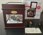 Mr. Christmas Music Box Animated Symphony Of Bells 50 Song Village Train 2011