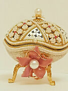 Luxury Faberge Russian Music Jewelry Box For Women Necklace And Bracelet Set Gift