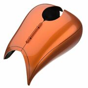 Amber Whiskey Stretched Tank Cover Pinstripes For 08+ Harley Street Road Glide