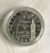 Simply Coins 1997 1998 France 98 Silver Proof 10 Franc Coin