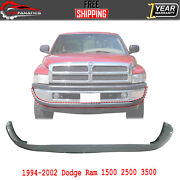Front Lower Bumper Cover For 1994-2001 Dodge Ram 1500 / 1994-2002 Ram 2500 3500