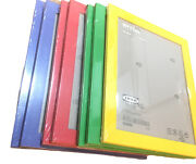 7 Ikea Nyttja 8.3/4 X 11 Picture Frame Blue Red Green And Yellow 7 Frames New
