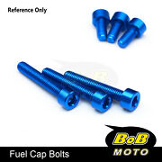 Cnc Fuel Gas Cap Bolts Fit 848 1098 1198 All Year Monster 600 750 800 / 1000 900