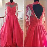 Valentino Wedding Evening Cocktail Runway Couture Beaded Embroidery Gown Dress