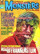Famous Monsters Of Filmland 1973 Wolf Man Horror = Poster 10 Sizes 17 - 5 Feet