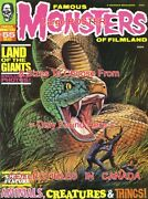 Famous Monsters Of Filmland 1969 Land Of The Giants = Poster 10 Sizes 17-5 Feet
