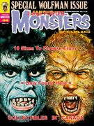 Famous Monsters Of Filmland 1973 96 Wolfman = Poster 10 Sizes 17 - 4.5 Ft