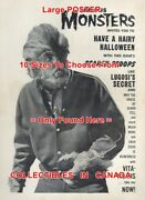 Famous Monsters Of Filmland 1960 Werewolf Jacket = Poster 10 Sizes 17 - 4.5 Ft