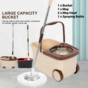 Easy Wring Spin Mop Bucket System Hard Floor Wet Home Ing Tools